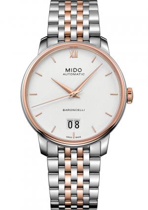 Mido Baroncelli Big Date M027.426.22.018.00 - Gioielleria Casavola Noci - orologio automatico - main - idea regalo uomo importante