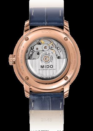 Mido Baroncelli Big Date M027.426.36.043.00 - Gioielleria Casavola Noci - orologio automatico gran data - fondello - idee regalo uomo importante