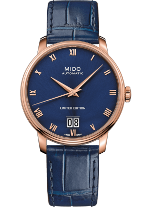 Mido Baroncelli Big Date M027.426.36.043.00 - Gioielleria Casavola Noci - orologio automatico gran data - main - idee regalo uomo importante