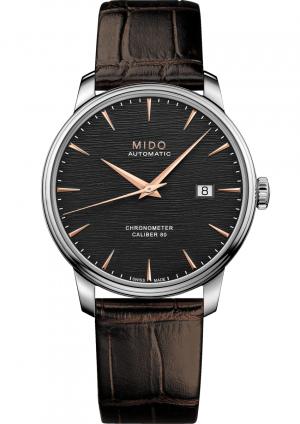 Mido Baroncelli Chronometer Silicon M027.408.16.061.00 - Gioielleria Casavola Noci - orologio automatico COSC - main - idee regalo uomo