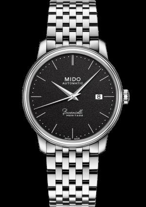 Mido Baroncelli Heritage M027.407.11.050.00 - Gioielleria Casavola Noci - orologio automatico acciaio - main - idee regalo uomo