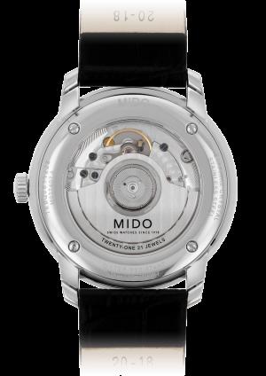 Mido Baroncelli Heritage M027.407.16.050.00 - Gioielleria Casavola Noci - orologio automatico - back - idee regalo uomo