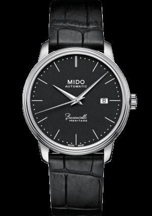 Mido Baroncelli Heritage M027.407.16.050.00 - Gioielleria Casavola Noci - orologio automatico - main - idee regalo uomo