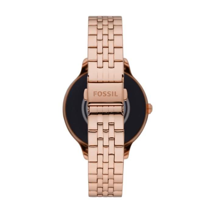 Fossil Gen 5E FTW6073 - smartwatch Wear OS Google - Gioielleria Casavola Noci - bracciale oro rosa - idee regalo donna
