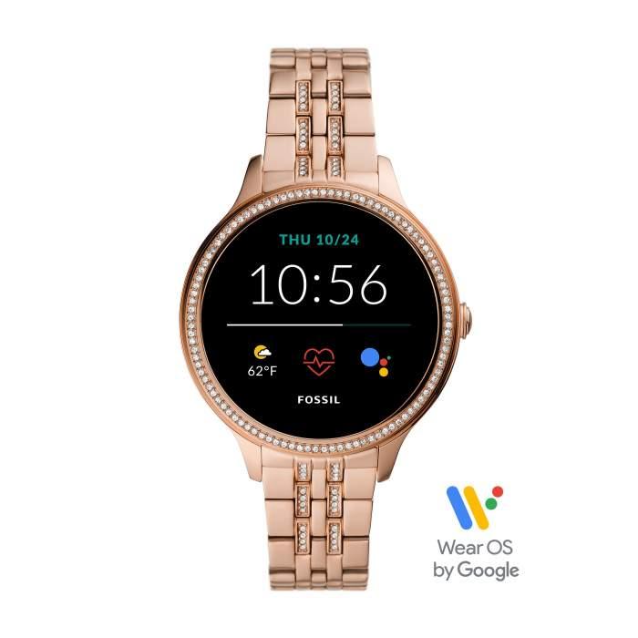 Fossil Gen 5E FTW6073 - smartwatch Wear OS Google - Gioielleria Casavola Noci - main - idee regalo donna