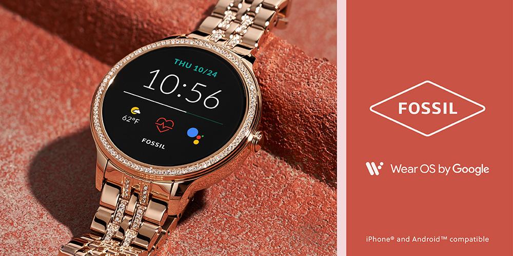 Fossil Smartwatches Gen 5E - Wear OS by Google - Gioielleria Casavola Noci - donna - idee regalo hi tech
