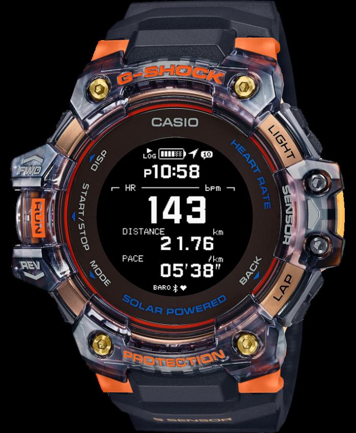 Casio G-Shock G-Squad GBD-H1000-1A4ER - Gioielleria Casavola Noci - smartwatch con cardiofrequenzimetro - idee regalo uomo