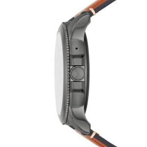 Fossil Gen 5E FTW4055 smartwatch Wear OS Google - Gioielleria Casavola Noci - idee regalo tecnologiche - pulsante