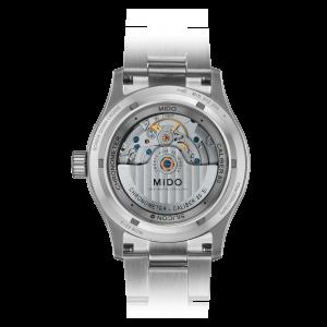 Mido Multifort Chronometer 1 M038.431.11.031.00 - Gioielleria Casavola Noci - orologio automatico COSC - fondello movimento a vista
