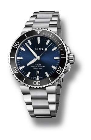 Oris Aquis Date 01 733 7730 4135-07 8 24 05PEB - Gioielleria Casavola Noci - orologio automatico svizzero - idee regalo importante