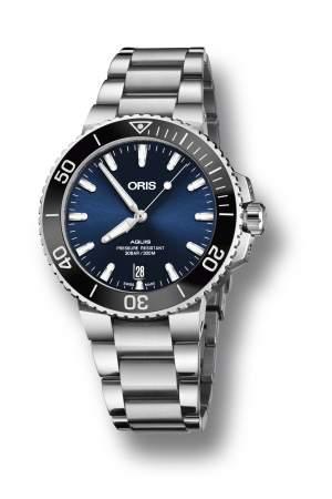 Oris Aquis Date 01 733 7732 4135-07 8 21 05PEB - Gioielleria Casavola Noci - orologio automatico svizzero - idee regalo importante