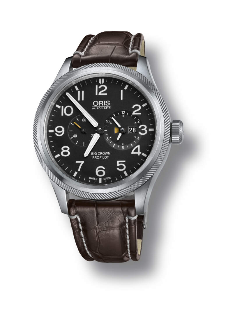 Oris Big Crown ProPilot Worldtimer 01 690 7735 4164-07 1 22 72FC - Gioielleria Casavola Noci - orologio automatico uomo ore del mondo