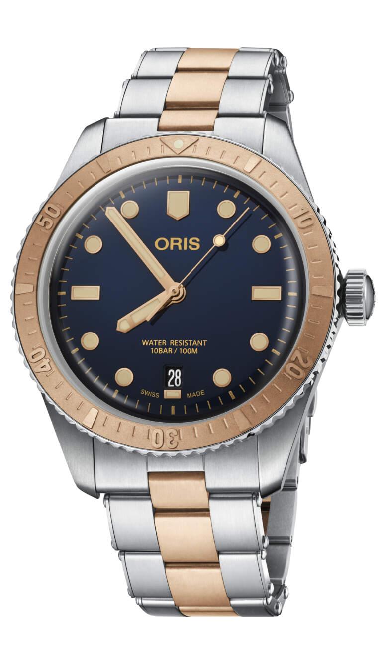 Oris Divers Sixty-Five 01 733 7707 4355-07 8 20 17 - Gioielleria Casavola Noci - idee regalo uomo - orologio automatico bronzo