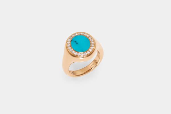 Crivelli anello fantasia turchese - Gioielleria Casavola Noci - idee regalo donne per ogni occasione
