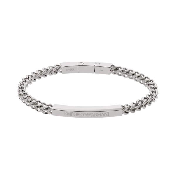 Emporio Armani bracciale EGS2416040 - Gioielleria Casavola di Noci - idee regalo uomo - gioiello in acciaio inox