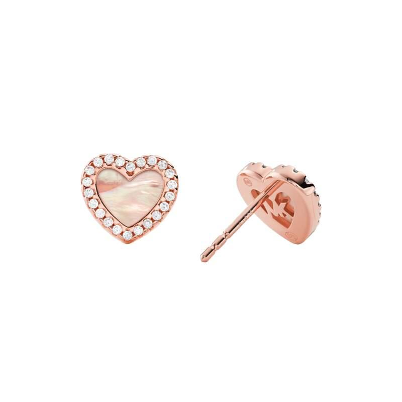 Michael Kors orecchini MKC1340A6791 - Gioielleria Casavola Noci - idee regalo donne - back - gioielli cuore