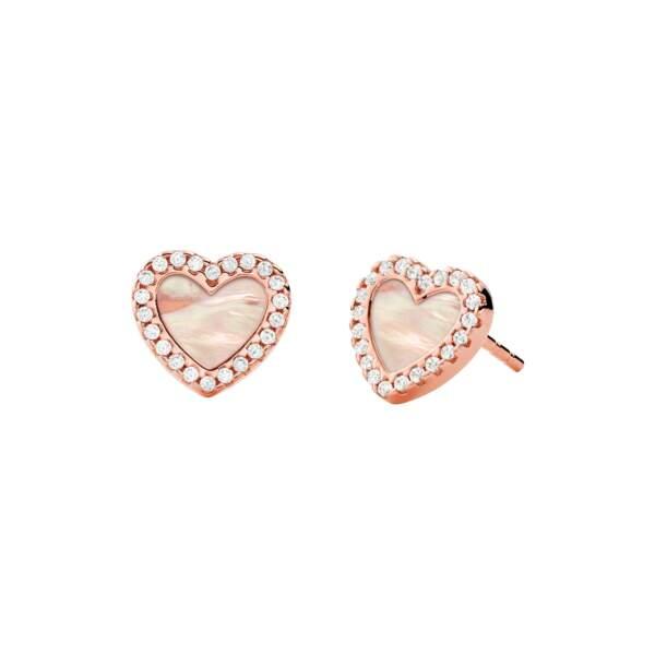 Michael Kors orecchini MKC1340A6791 - Gioielleria Casavola Noci - idee regalo donne - main - gioielli cuore