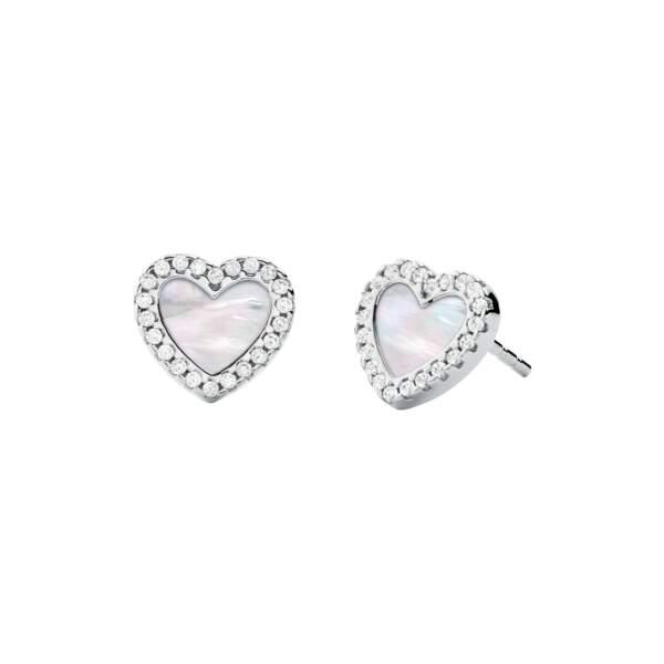 Michael Kors orecchini MKC1340AH040 - Gioielleria Casavola Noci idee regalo donne - main - gioielli fashion cuore