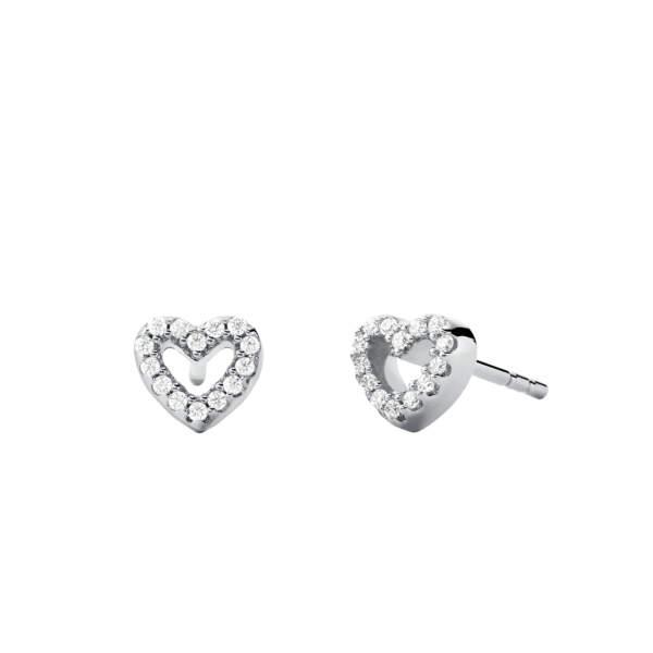 Michael Kors orecchini MKC1352AN040 - Gioielleria Casavola Noci - main - idee regalo donne - gioiello cuore