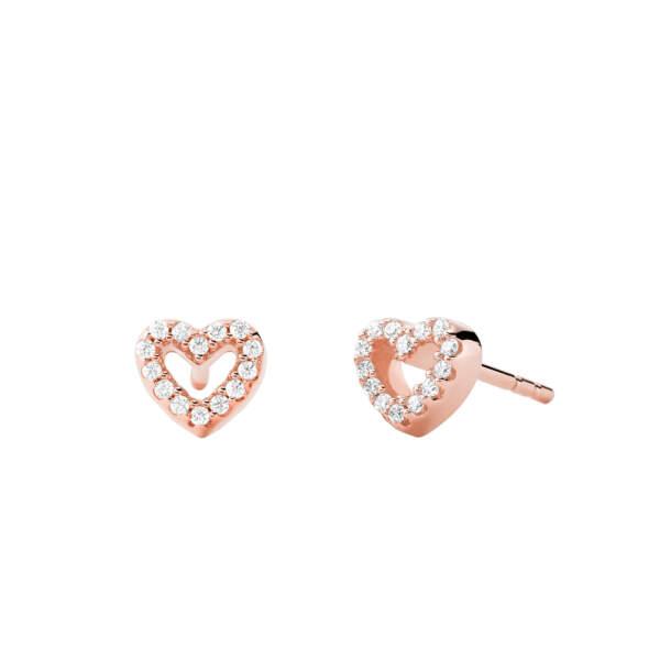 Michael Kors orecchini MKC1352AN791 - Gioielleria Casavola Noci - idee regalo donne - main - gioielli cuore oro rosa