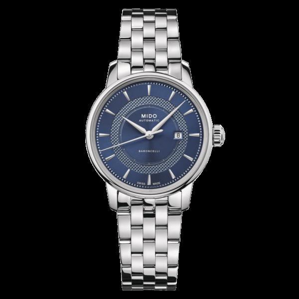 Mido Baroncelli Signature M037.207.11.041.01 - Gioielleria Casavola Noci - orologio spirale Nivachron - main - idee regalo donne