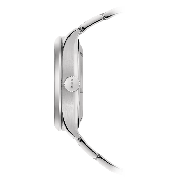Mido Multifort Dual Time M038.429.11.041.00 - Gioielleria Casavola Noci - orologio automatico GMT acciaio - corona a vite - idee regalo uomo