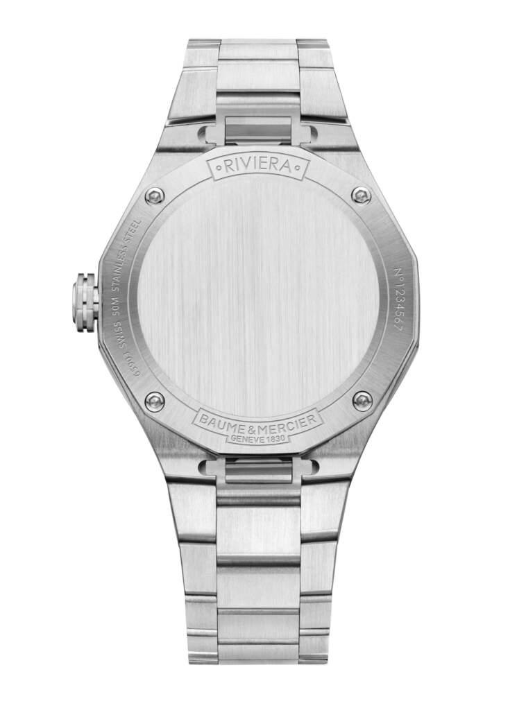 Baume et Mercier Riviera M0A10614 - Gioielleria Casavola di Noci - orologio idee regalo donne - fondello
