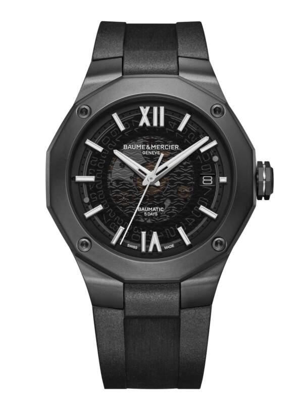 Baume et Mercier Riviera M0A10617 - Gioielleria Casavola di Noci - orologio acciaio ADLC - main - idee regalo uomo sportivo