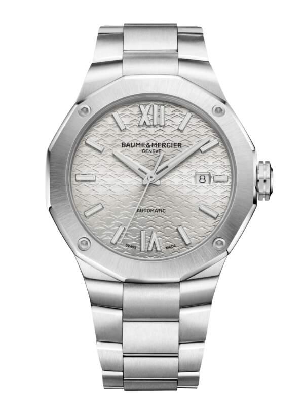 Baume et Mercier Riviera M0A10622 - Gioielleria Casavola Noci - orologio automatico uomo acciaio - main - idee regalo fidanzato marito