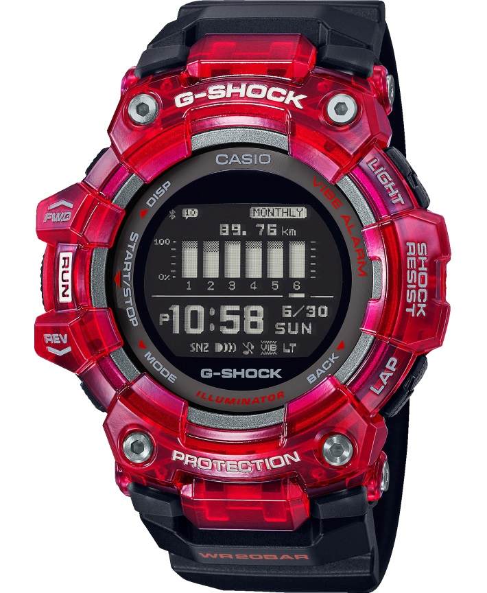 Casio G-Shock G-Squad GBD-100SM-4A1ER - Gioielleria Casavola Noci - activity tracker