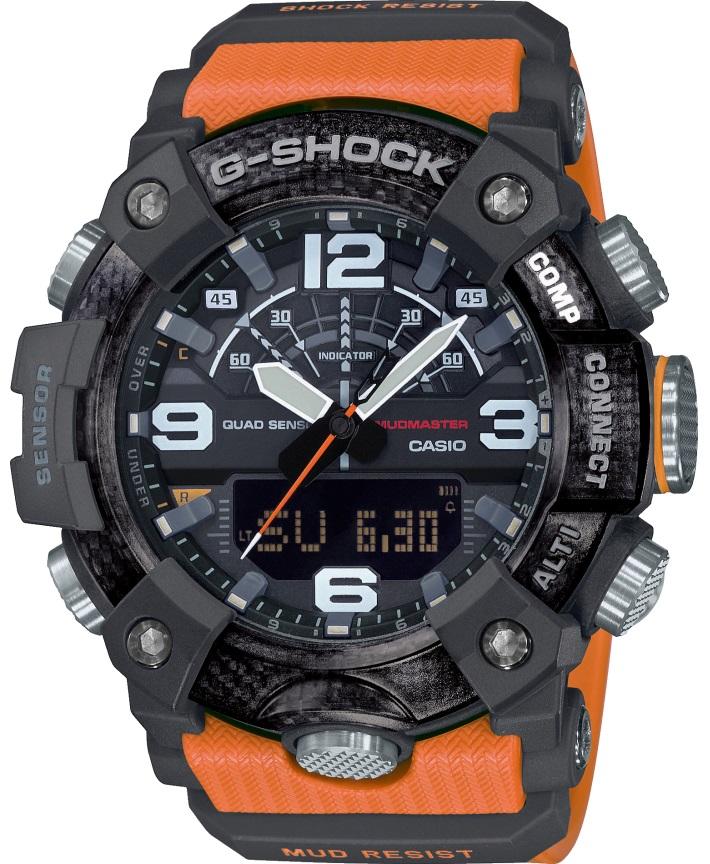 Casio G-Shock Mudmaster GG-B100-1A9ER - Gioielleria Casavola Noci - orologio militare arancione - resistente agli urti