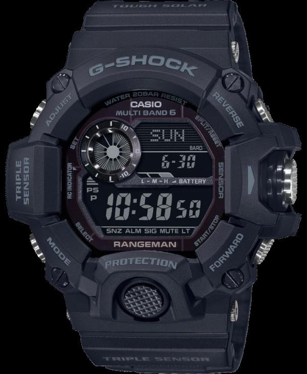 Casio G-Shock Rangeman GW-9400-1BER - Gioielleria Casavola Noci - idee regalo - orologio stile militare