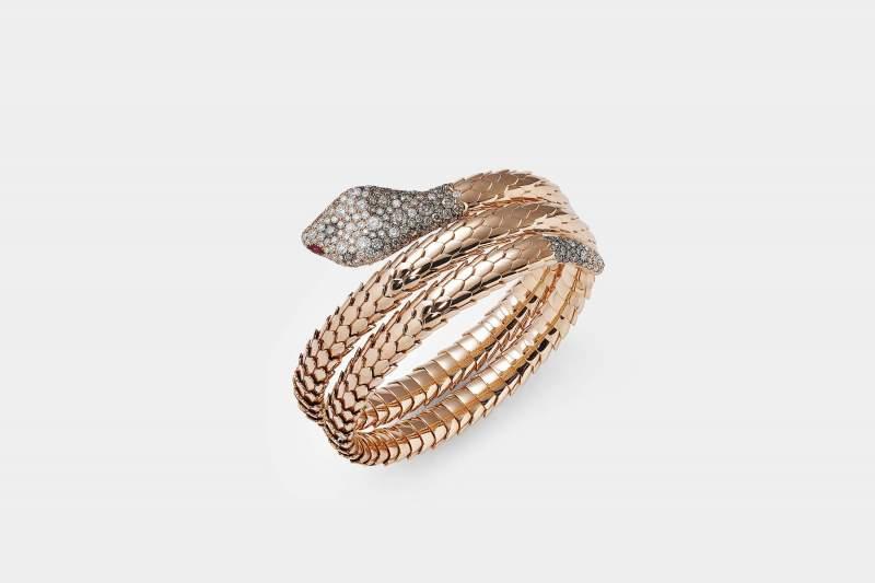 Crivelli bracciale serpente diamanti e rubini - Gioielleria Casavola Noci - idee regalo per occasioni importanti