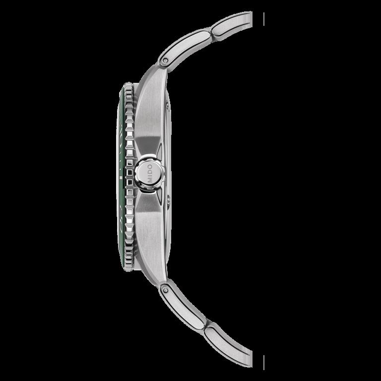 Mido Ocean Star 200C M042.430.11.091.00 - Gioielleria Casavola di Noci - orologio automatico quadrante verde - corona a vite - idee regalo uomo
