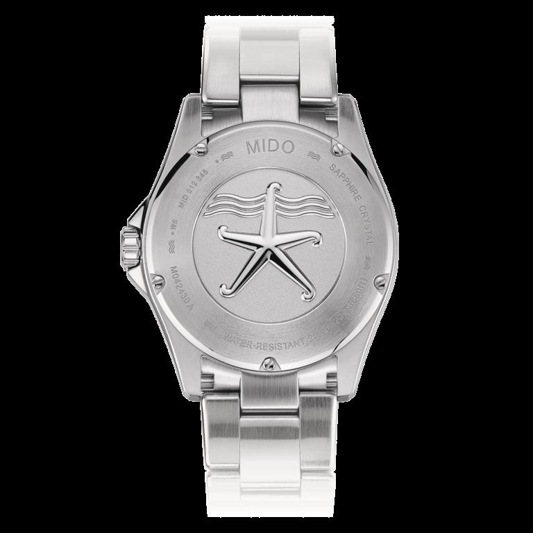 Mido Ocean Star 200C M042.430.11.091.00 - Gioielleria Casavola di Noci - orologio automatico quadrante verde - fondello inciso - idee regalo uomo