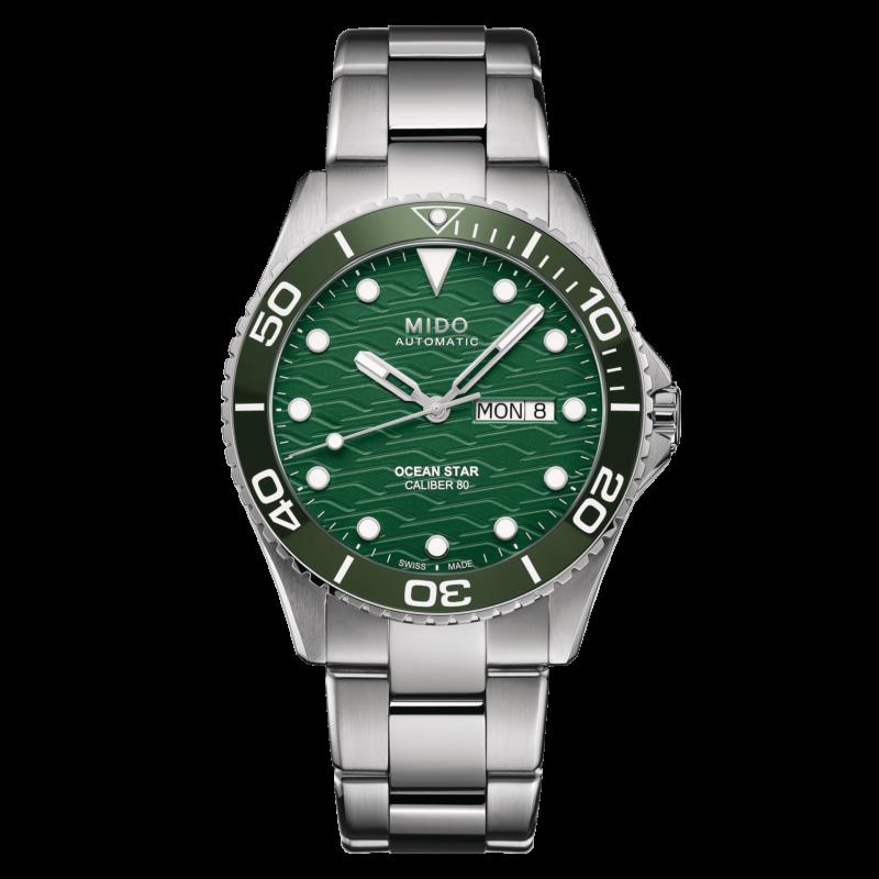 Mido Ocean Star 200C M042.430.11.091.00 - Gioielleria Casavola di Noci - orologio automatico quadrante verde - main - idee regalo uomo