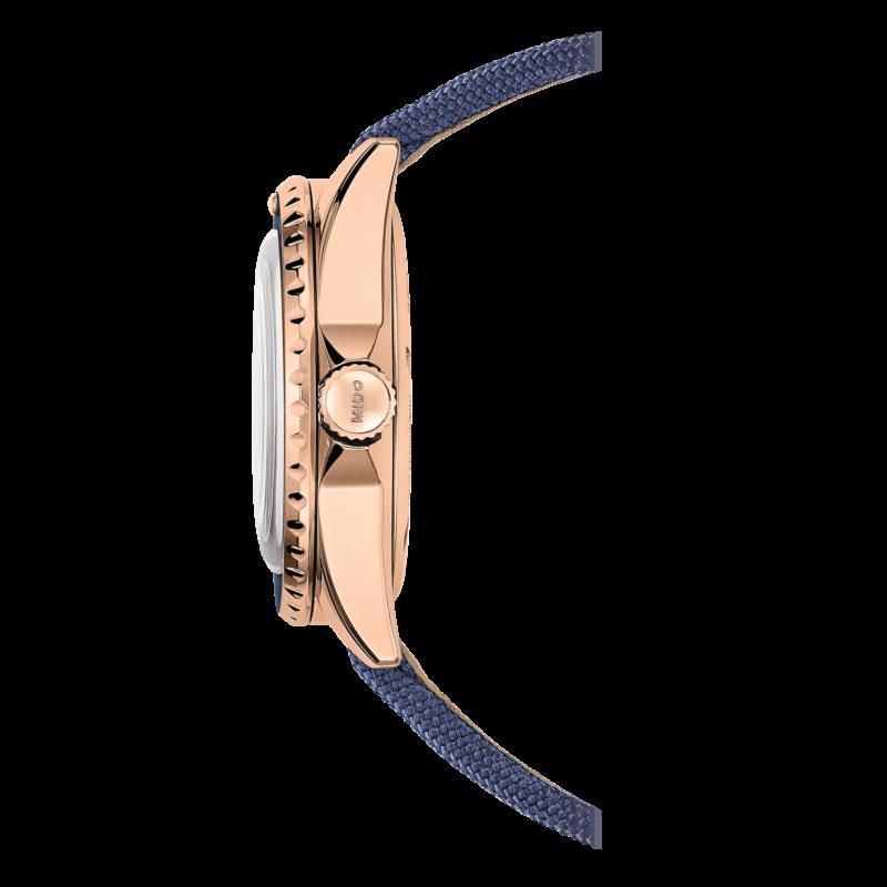 Mido Ocean Star Tribute M026.830.38.041.00 - Gioielleria Casavola Noci - orologio automatico oro rosa - corona a vite - idee regalo uomo
