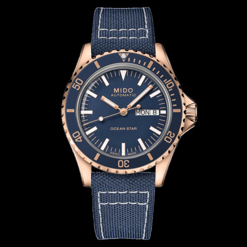 Mido Ocean Star Tribute M026.830.38.041.00 - Gioielleria Casavola Noci - orologio automatico oro rosa - main - idee regalo uomo