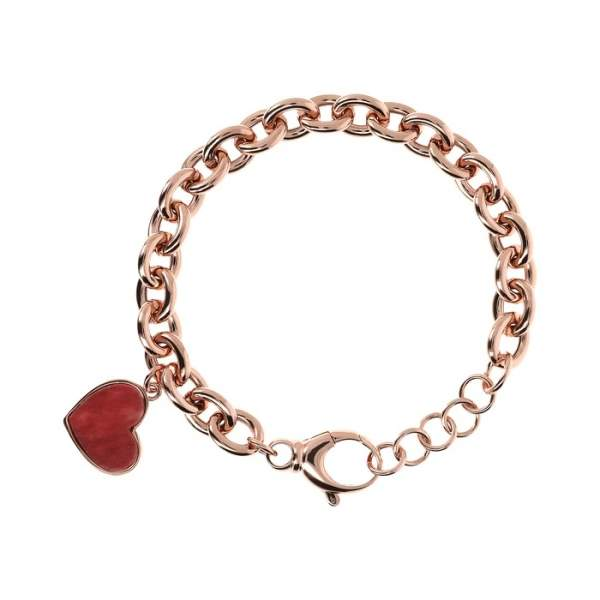 Bracciale cuore Bronzallure WSBZ01745RDW - Gioielleria Casavola Noci - idee regalo donne - main