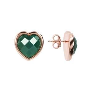 Bronzallure orecchini cuore WSBZ01563GAG - Gioielleria Casavola Noci - dettaglio - idee regalo donne economico