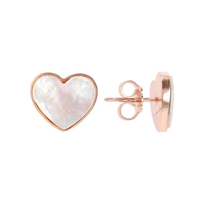 Bronzallure orecchini cuore WSBZ01730WM - Gioielleria Casavola Noci - idee regalo economico donne - dettaglio