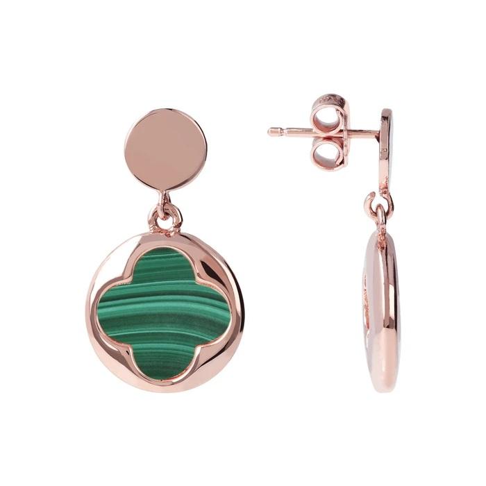 Bronzallure orecchini quadrifoglio WSBZ00914GM - Gioielleria Casavola Noci - idee regalo donne economico - dettaglio