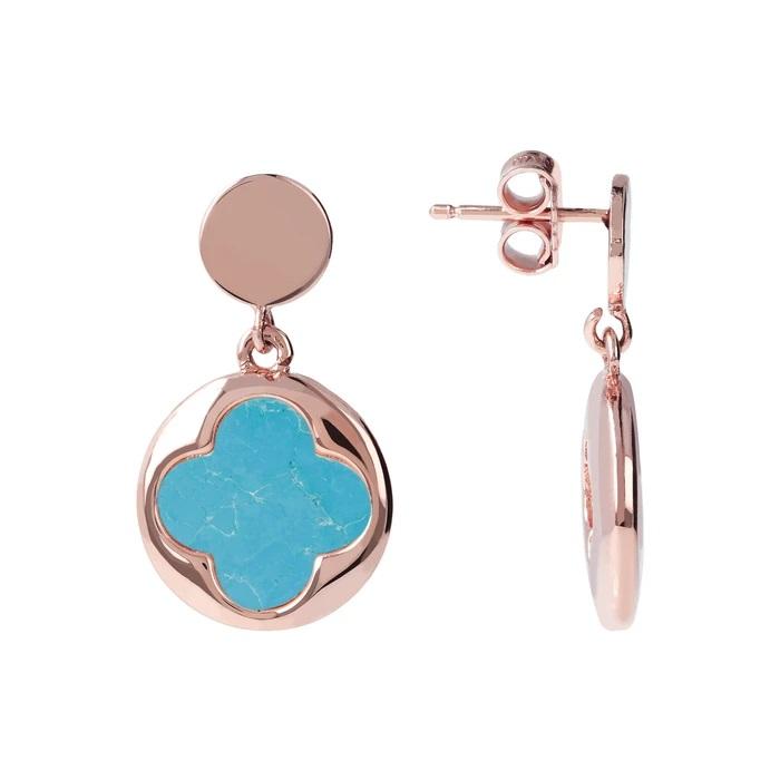 Bronzallure orecchini quadrifoglio WSBZ00914MG - Gioielleria Casavola Noci - idee regalo economico donne - dettaglio
