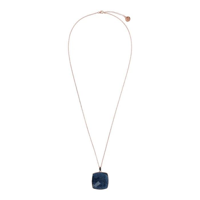 Collana quadrato Bronzallure WSBZ01792DUM - Gioielleria Casavola Noci - idee regalo donne - completa