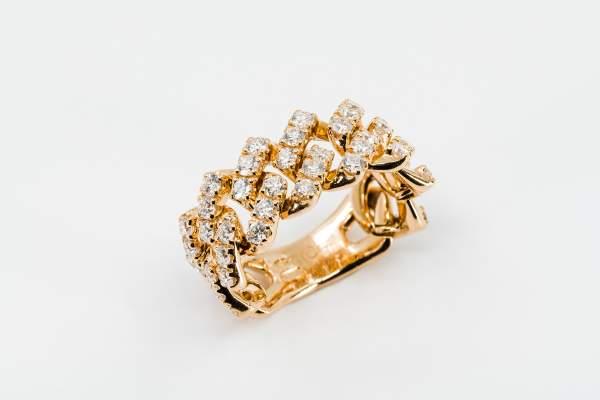 Crivelli anello groumette maglia morbida - Gioielleria Casavola Noci - idee regalo donne per occasioni importanti
