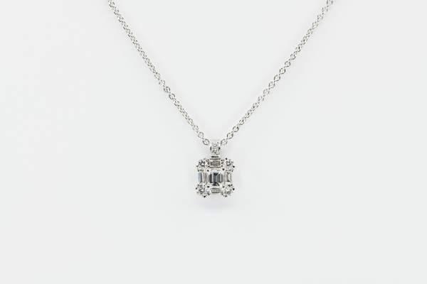 Crivelli collana fantasia diamante princess - Gioielelria Casavola Noci - idee regalo donne per ogni occasione