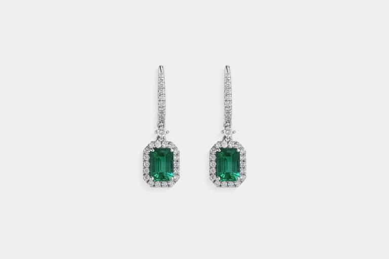Crivelli orecchini pietre colore smeraldi - Gioielleria Casavola Noci - idee regalo donne per occasioni importanti - main