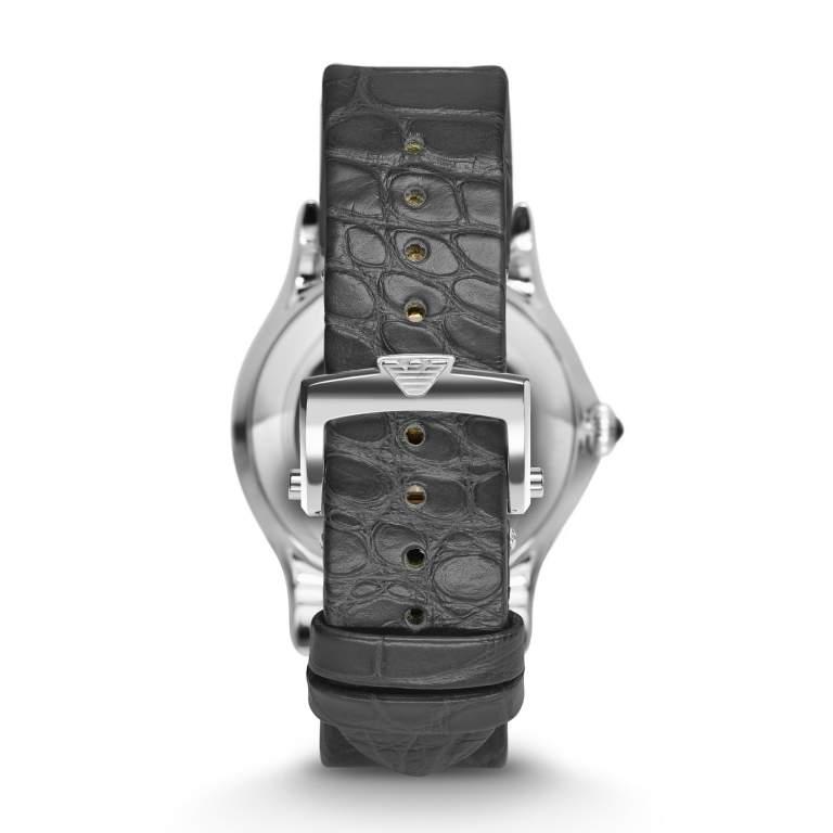 Emporio Armani Swiss Made ARS3404 - Gioielleria Casavola Noci - orologio automatico elegante uomo - cinturino pelle