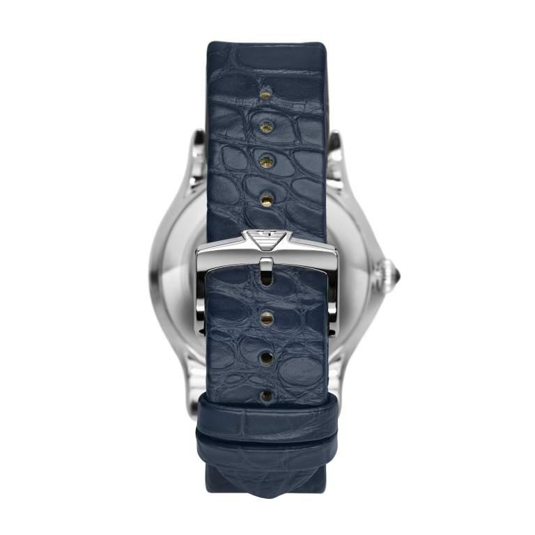 Emporio Armani Swiss Made ARS3501 - Gioielleria Casavola Noci - orologio uomo elegante - idee regalo - cinturino pelle blu