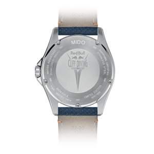 Mido Ocean Star Red Bull M026.430.17.041.00 - Gioielleria Casavola Noci - orologio automatico edizione limitata - fondello incisione